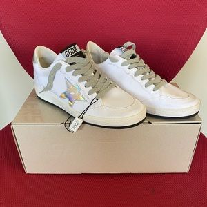 Golden Goose Ball Star Sneakers 40–10 US . NIB !